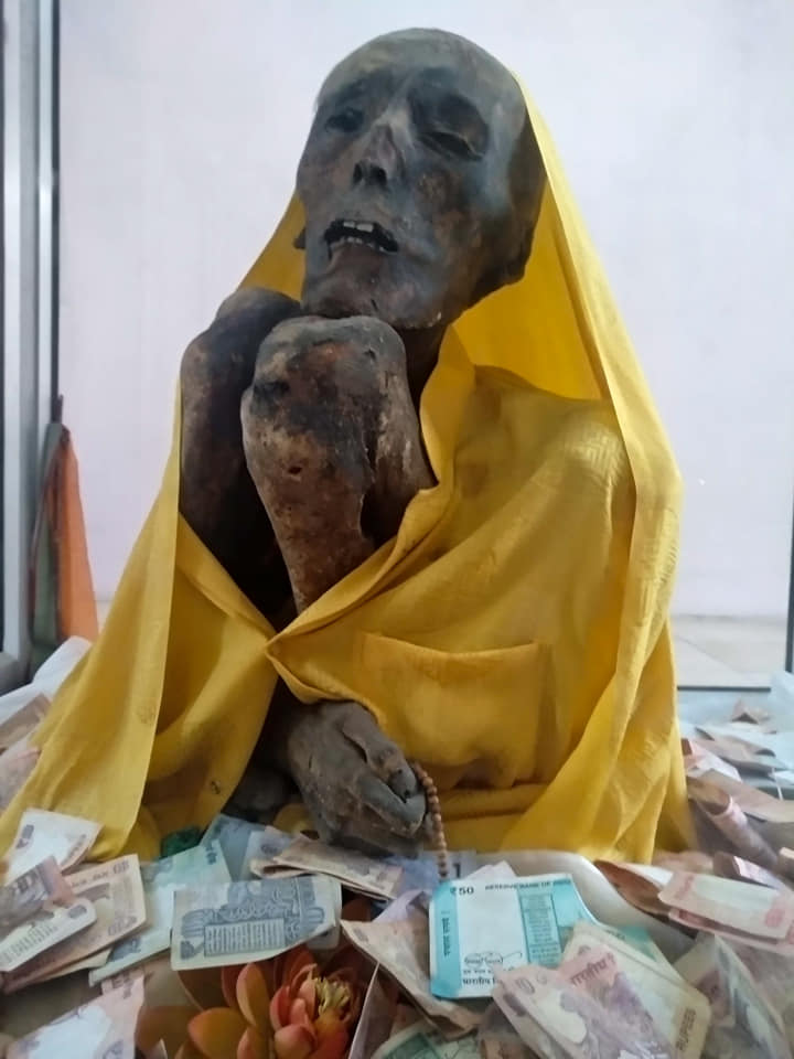 Gue Monastery Mummy