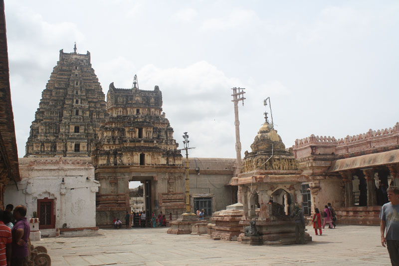 Inner Courtyard looking towards the Main Gopuram