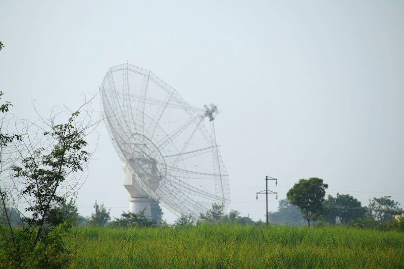 Giant Meter Wave Radio Telescope | Pune | India