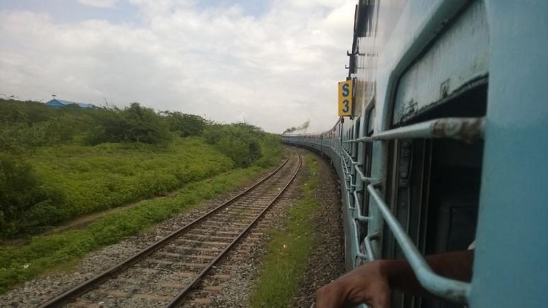 Train journey from Pune via Huballi to Hampi