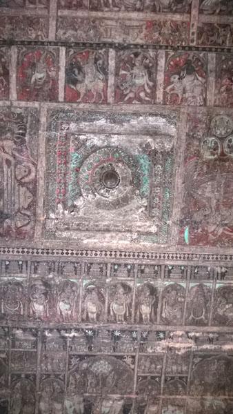 Painting on Virupaksha Temple