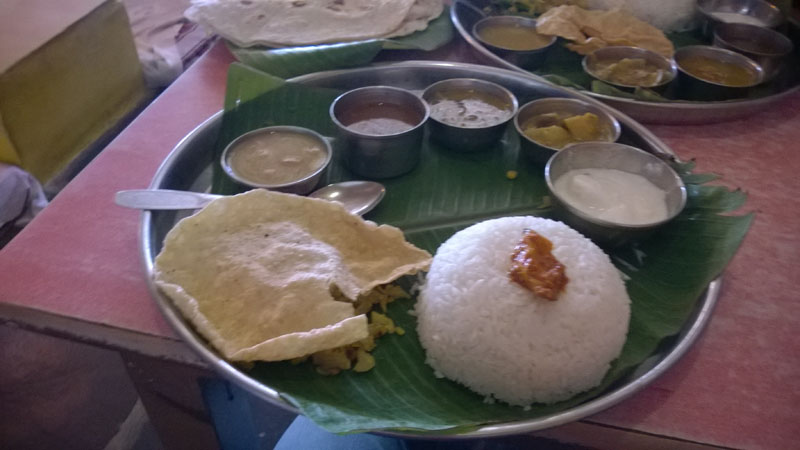 Mango restaurant for lunch Hampi near Virupaksha Temple