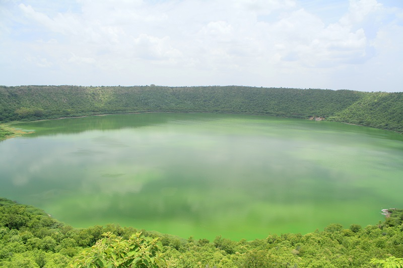 Lonar Crater Lake : Bike Trip through Road-less Travelled | Travel And Trekking