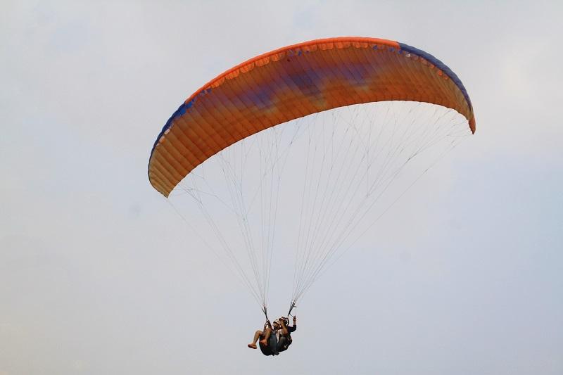 Tandem Paragliding |Kamshet | Maharastra | Travel And Trekking