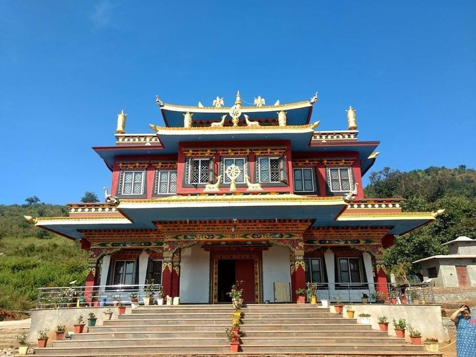 Buddhist Monastery in Chandragiri Odisha