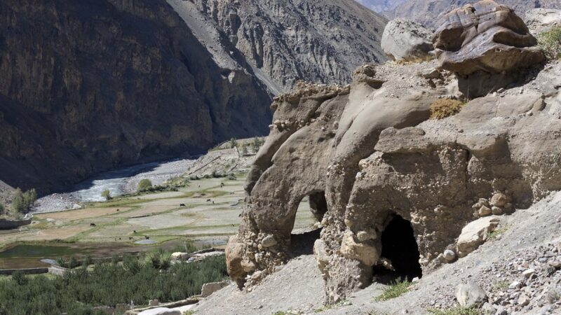 Tabo Caves, Spiti Valley