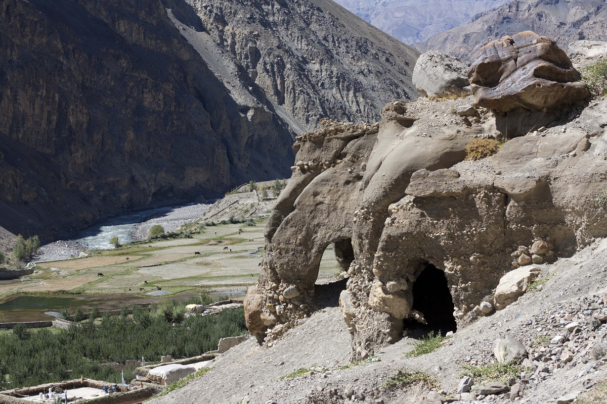 Ancient Tabo Caves | Spiti Valley | Himachal Pradesh